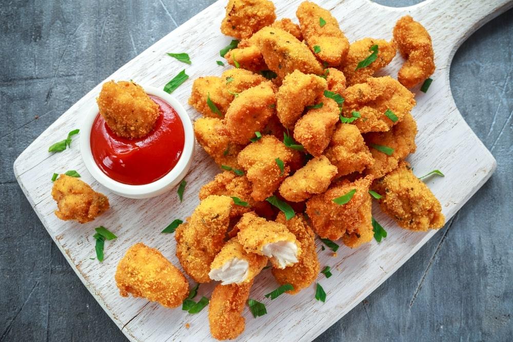 healthy chicken nuggets recipe