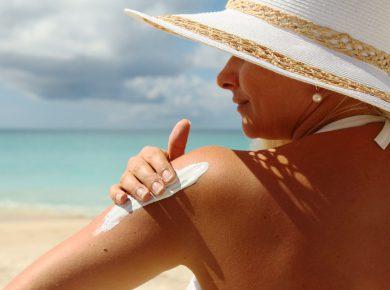 Using Sunscreen
